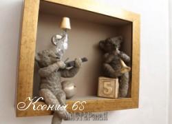 Ксения 68 - Панно из любимых игрушек. Много идей