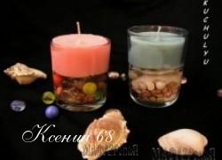 Ксения 68 - Свечи своими руками