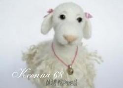Ксения 68 - Мастер класс по валянию овечки