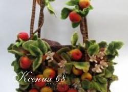 Ксения 68 - Невероятные сумки своими руками (валяние, филтинг)