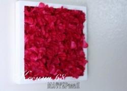 Ксения 68 - Панно из искусственных цветов