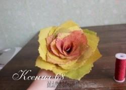 Ксения 68 - Розы из листьев