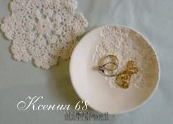 Ксения 68 - Декоративная тарелка для украшений.