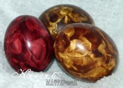 Ксения 68 - Атласные яйца из полимерной глины