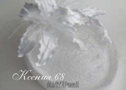 Ксения 68 - Свадебная шляпка (МК от kupavka)