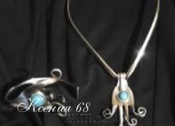 Ксения 68 - Ювелирные украшения из серебрянных ложек и вилок.МК