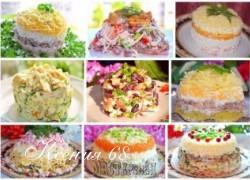 Ксения 68 - 9 рецептов самых лучших салатов от Натальи Чагай
