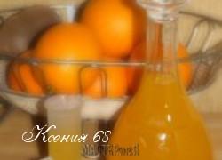 Ксения 68 - Мандариновый ликер - женский напиток