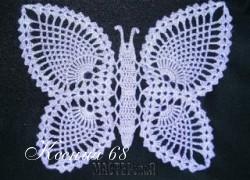 Ксения 68 - Бабочки крючком.