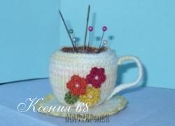 Ксения 68 - Вязаные чайные чашки