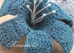 Ксения 68 - Вязаные крючком цветы (схемы)