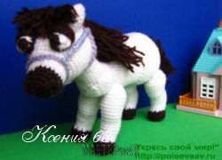 Ксения 68 - Лошадка (игрушки амигуруми)