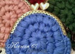 Ксения 68 - Вязаные кошельки. Схемы и идеи