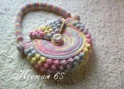 Ксения 68 - Яркая сумочка крючком