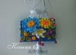 Ксения 68 - Сумочки с цветами. Вязание крючком