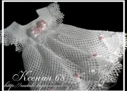 Ксения 68 - Платья для девочек крючком. Схемы