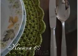 Ксения 68 - Подставки под горячее крючком