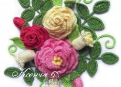 Ксения 68 - Цветы крючком. Схемы