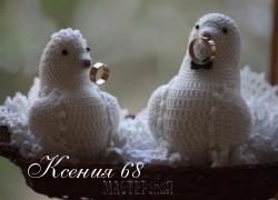 Ксения 68 - Голуби крючком