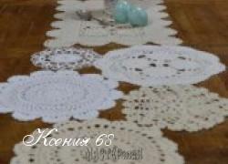 Ксения 68 - Ажурные салфетки из мотивов