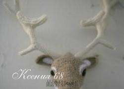 Ксения 68 - Голова оленя и других животных. Оригинальные идеи