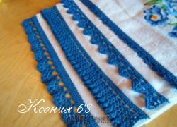 Ксения 68 - Обвязка полотенец крючком
