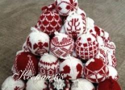 Ксения 68 - Новогодние шары спицами