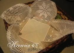 Ксения 68 - Салфетка для хлебницы. Схема