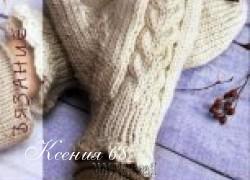 Ксения 68 - Вяжем варежки