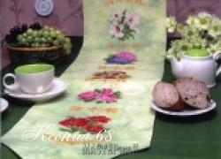 Ксения 68 - Шикарные салфетки с цветами.Вышивка крестом.Схемы цветов