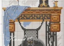 Ксения 68 - Вышивка в подарок рукодельнице. Схемы