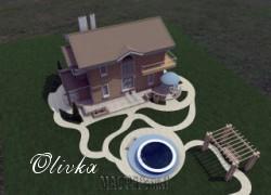 Olivka - Коттедж двухэтажный
