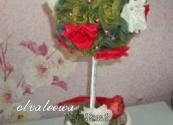 olvaleewa - Топиарий с розами