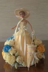 Ксения 68 - Делаем платье с конфетами для куклы