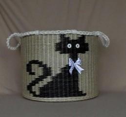 Ксения 68 - Имитация вышивки в плетении из газет