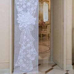 Ксения 68 - Шикарная филейная штора. Схема