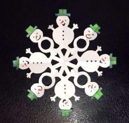 Ксения 68 - Снежинки из бумаги. Шаблоны