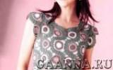 Gaanna - Безрукавка из мотивов с брюггской тесьмой