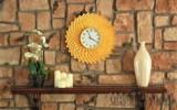 """Ксения 68 - Часы """"Хризантема"""" из пластиковых ложек."""