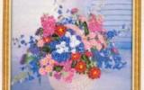 Ксения 68 - Цветы (вышивка лентами)