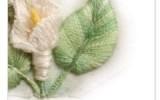 Ксения 68 - Как вышить фактурный листик