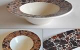 Ксения 68 - Декоративная тарелка с мозаикой. МК