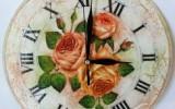 Ксения 68 - Старинные часы с кракелюром. МК