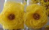 Ксения 68 - Нежные цветы из грубой ткани