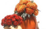 Ксения 68 - Ваза из тыквы. Осенняя флористика
