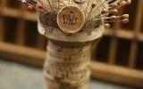 Ксения 68 - Винтажная игольница из деревянной катушки