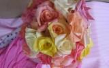 Ксения 68 - Розы из кофейных фильтров. Мастер класс
