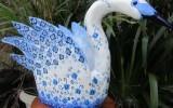Ксения 68 - Лебедь из пластиковой канистры.МК