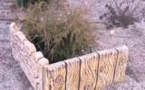 Ксения 68 - Декоративный заборчик из пластиковых ящиков и цемента