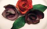 Ксения 68 - Розы из лотков от яиц.МК